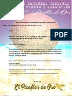Bases Oficiales El Picaflor de Oro 2019