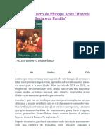 Resenha Do Livro de Philippe Ariès História Social Da Infância e Da Família
