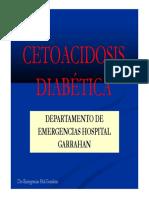 Clase Curso de Emergencias CETOACIDOSIS DBT