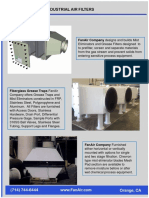 FanAir Grease Filter Mist Eliminator Brochure