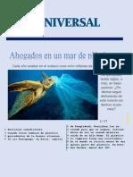 Periodico El Universal Del Plastico