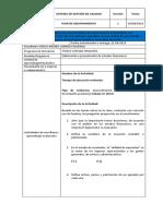 Plan de Mejoramiento Elaboracion y Presentacion de Estados Financieros