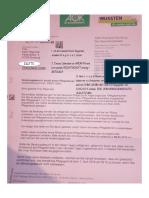 Antwort Auf- IMG-20190220-WA0065 Anonymes Schreiben Der AOK Oberhausen - BETRUGSSCHREIBEN - 15. Hornung 2019
