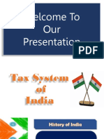 Tax System of India