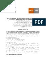 Xxxv Congreso de Lengua y Literatura Italianas de La Asociación Docentes e Investigadores de Lengua y Literatura Italianas