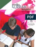 Gaitasun handiko haurrak ikasgelan - Alumnos/as con altas capacidades en el aula. Folleto elaborado por FANJAC