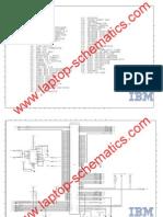 IBM Laptop Motherboard Schematic Diagram