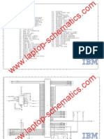 IBM Laptop Motherboard Schematic Diagram