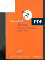 Rebecca... Filosofía para niños