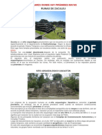 Lugares Donde Hay Pirámides Mayas