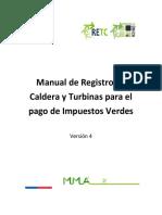 Manual de Registro - Impuestos Verdes V4