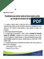 Procedimiento Para Solicitar Factura Juridica1