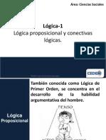 C1 Lógica Proposicional y Conectivas Lógicas