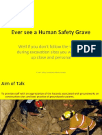 Ever See a Human Safety Grave