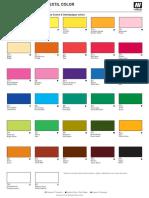 Textil cartacolor