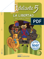 Comprensión de lectura La Libertad 5to Profesor
