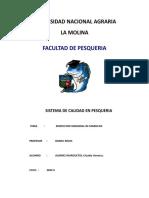 94198099 Informe 2 Inspeccion Sensorial de Mariscos