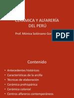 La Cerámica en El Perú
