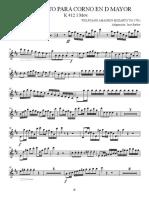 Concierto de Corno - Flute 1