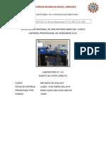 Informe 02-Corte Directo