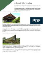 Daftar Rumah Adat Lengkap.docx