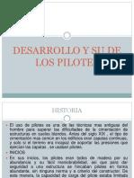 Desarrollo y Su de Los Pilotes