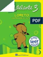 Comprensión de lectura Loreto 3ro Alumno