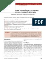 bahan abstrak hemangioma verukosa
