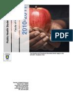 Public Health Student Handbook 2010-2011 v10 Nwb
