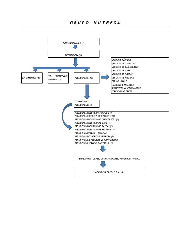 Estructura Organizacional Docx