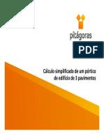 Cálculo Edf. 3 ANDARES