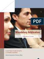 Mandatory Arbitration Guide