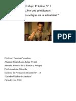 Tp Salini Tyrrell Historia de La Filosofia Antigua