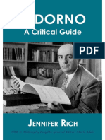 Adorno_ a Critical Guide (Philo - Jennifer Rich