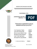 Estructuras organizativas para la administración por proyectos.docx
