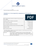 Guideline Immunogenicity Assessment Therapeutic Proteins Revision 1 En