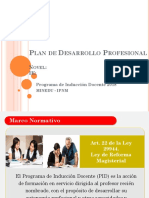 PPT-Plan de Desarrollo Profesional