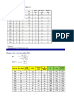 Casing Design Worksheet
