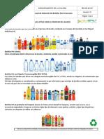 Guía Para La Selección de Botellas Post-Consumo 2017