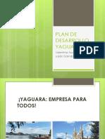 Plan de Desarrollo 2012- 2015 Yaguara