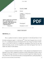 12 Barrameda vs. Rural Bank of Canaman vs. G.R. No. 176260