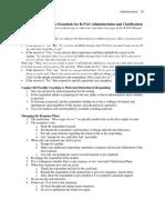 Summary Sheet R-PAS Admin and Clarification