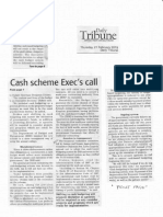 Daily Tribune, Feb. 21, 2019, Cash scheme Execs call.pdf