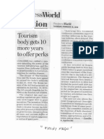 Business World, Feb. 21, 2019, Toursm body gets 10 more years to offer perks.pdf