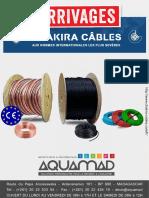 Catalogue de Prix Chakira Câbles