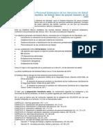 Estatuto Marco Del Personal Estatutario de Los Servicios de Salud