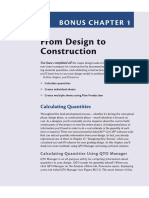 From Design to Construction