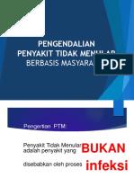 Pengendalian PTM Berbasis Masyarakat Sumedang