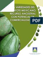 Las Variedades Del Chayote Mexicano