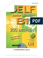 DELF B1 CO Activites